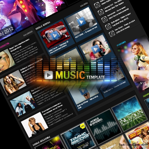 Music Template (Test-Templates)