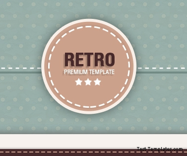 Retro Template (Test-Templates) (Адаптивный)