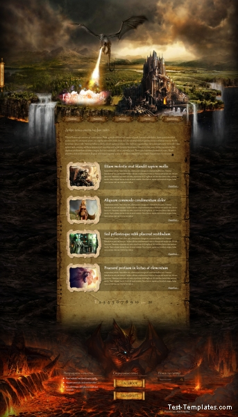 Fantasy Quest (Test-Templates)
