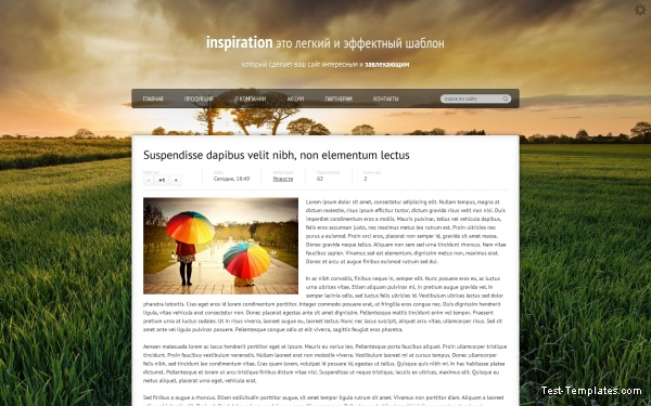 Inspiration (Test-Templates)