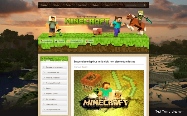 Minecraft (Test-Templates)