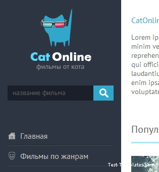 CatOnline (Test-Templates)